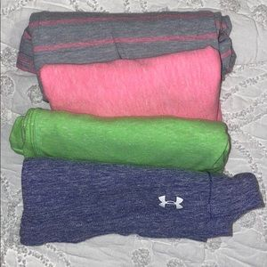 Multiple Under Armor Semi Fitted Tanks w/ Pocket